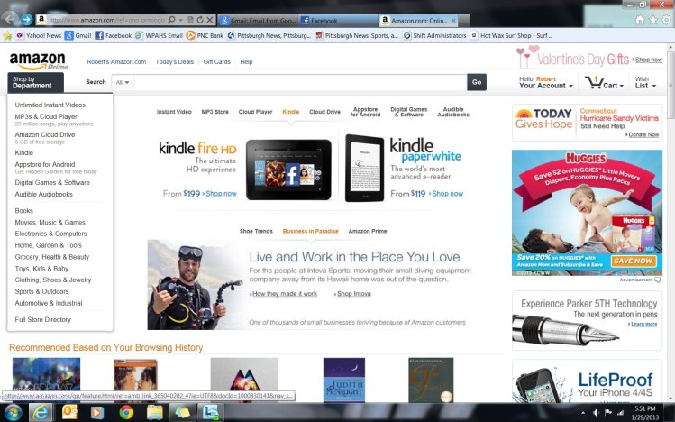 Kevin-Lackey-Amazon-home-page
